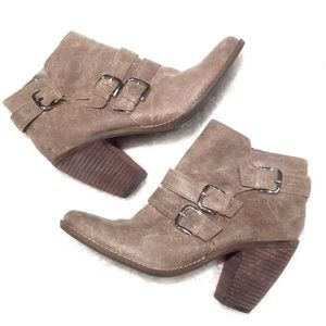 DV booties from Nordstrom tan
